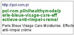 http://pol-rom.pl/nlhealthymode/perle-bleue-visage-care-effectieve-anti-rimpel-creme/